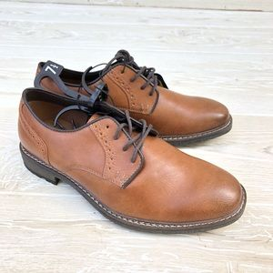 George Memory Foam Oxford loafers lace up